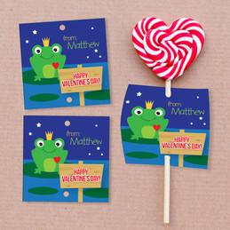 Are You My Prince? Lollipop Cards Set