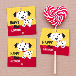 A Patchy Valentine's Day Lollipop Cards Set