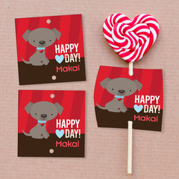 Ready For Valentine's Day? Lollipop Cards Set