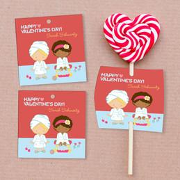 A Fabulous Valentine's Day Lollipop Cards Set