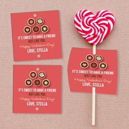Sweet TreatsLollipop Cards Set