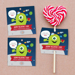 My Eye Is On You Lollipop Cards Set