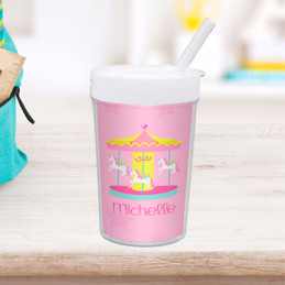 Sweet Carousel Toddler Cup