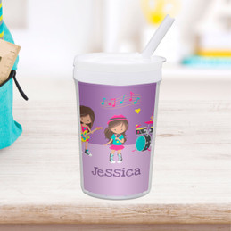 Rock And Roll Band Toddler Cup