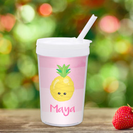 Yummy Pineapples Toddler Cup