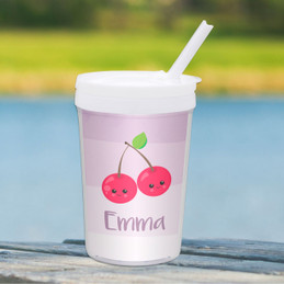 Yummy Cherries Toddler Cup