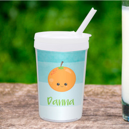 Yummy Oranges Toddler Cup