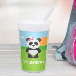 Sweet Panda Toddler Cup