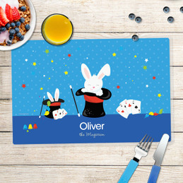 Cute Magician Boy Kids Placemat