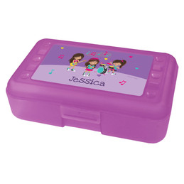 Rock and Roll Band Pencil Box