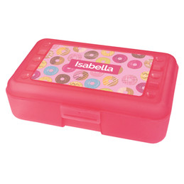 Sweet Donuts Pencil Box