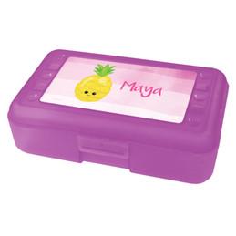 Yummy Pineapple Pencil Box