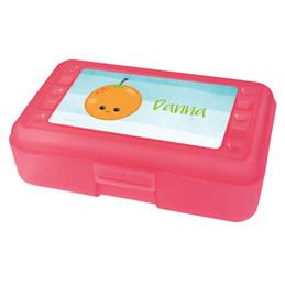 Yummy Orange Pencil Box