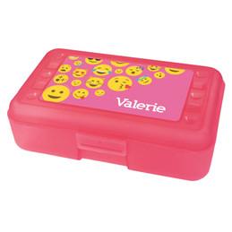 Girl Emojis Pencil Box
