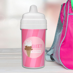 Sweet & Yummy Pink Sippy Cup