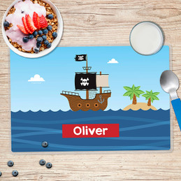 All Aboard Pirates Kids Placemat
