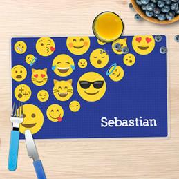 Boy Emojis Kids Placemat