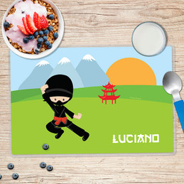 Cool Super Ninja Kids Placemat