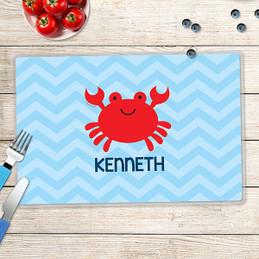 Happy Crab Kids Placemat