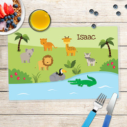 Jungle Fever Kids Placemats