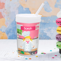 A Girl Chef's Taste Toddler Cup