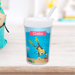 Under the Sea Girl Toddler Cup