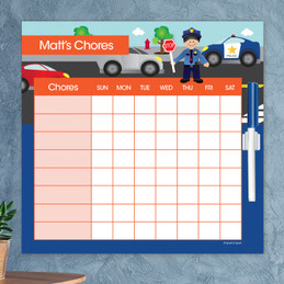 Police On Duty Chore Chart