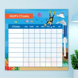 Under The Sea Chore Chart