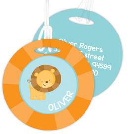 Cute Baby Lion Bag Tag