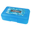 Blue Camouflage Personalized Pencil Box