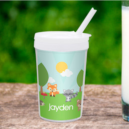 Cute Animals In The Forest Toddler Cup