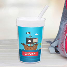 All Aboard Pirates Toddler Cup