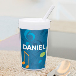 Musical Notes Toddler Cup