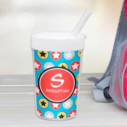 Super Hero Stars Toddler Cup