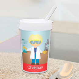 Cool Scientist Boy Toddler Cup