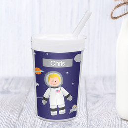 Fly to the Moon Toddler Cup