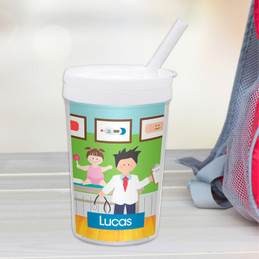 Boy Doctor's Visit Toddler Cup