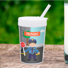 Police on Duty Toddler Cup
