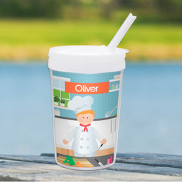 A Chef's Taste Boy Toddler Cup