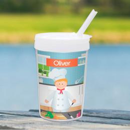 A Chef's Taste Boy Toddler Cup