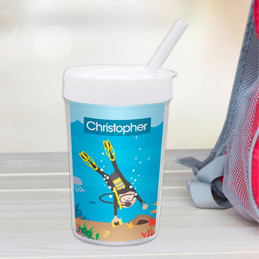 Under the Sea Boy Toddler Cup