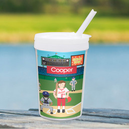 Home Run Boy Toddler Cup