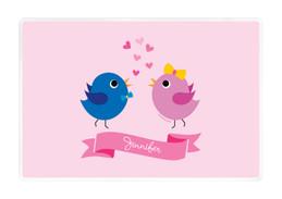 Sweet & Cute Birds Kids Placemat