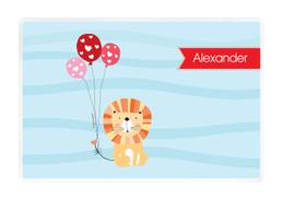 Balloon Lion Kids Placemat