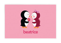 Penguins in Love Kids Placemat