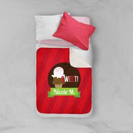 Sweet & Yummy Red Sherpa Blanket