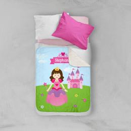 Sweet little princess Sherpa Blanket