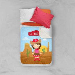 Cowgirl Sherpa Blanket