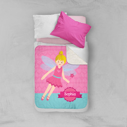 Fairy Girl Sherpa Blanket