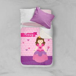 Cute Princess Sherpa Blanket
